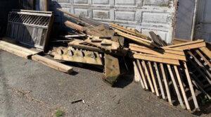 Scrap Wood Removal Pickup Winnipeg Manitoba